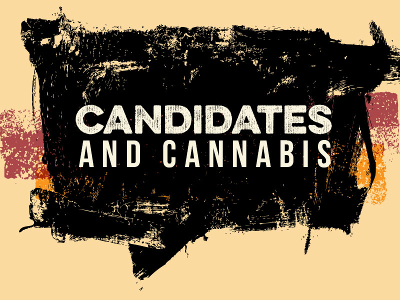Candidates and Cannabis