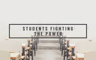 Students Fighting the Power