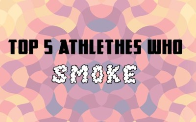 Top Five Athletes Who Smoke