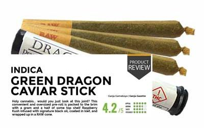 Product Review – Green Dragon Caviar