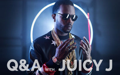 Q&A with Juicy J