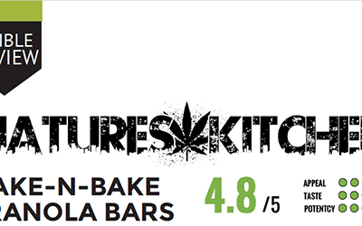 Edible Review – Wake N Bake Granola Bars