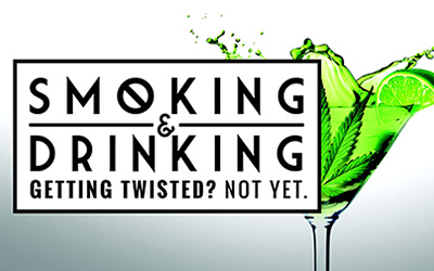 Smoking and Drinking – Getting Twisted? Not Yet