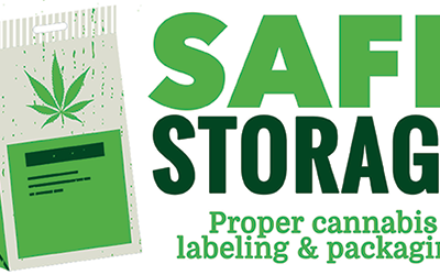 Safe Storage – Proper Cannabis Labeling & Packaging