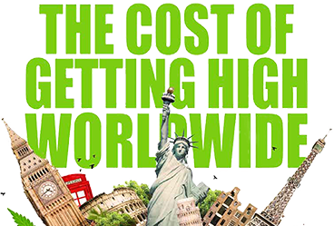 The Cost Of Getting High Worldwide