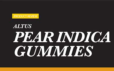 Product Review – Altus Pear Indica Gummies