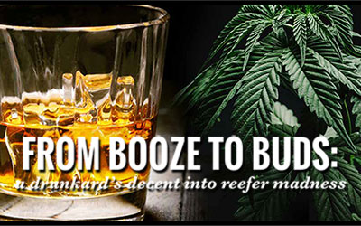 From Booze To Buds: a drunkard's decent into reefer madness