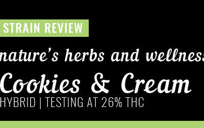 Strain Review – Cookis & Cream